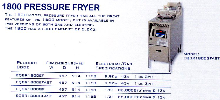 Pressure Fryer (Broaster)